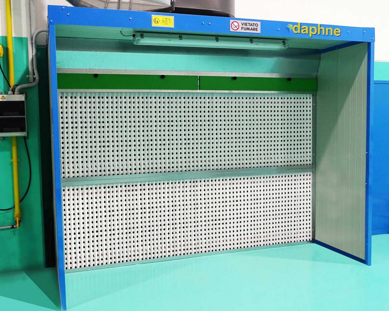 Plafoniere Per Cabine Di Verniciatura : Cabine di verniciatura daphne impianti